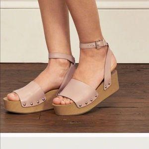 Sam Edelman Brynn Platform Sandal Size 7.5 Tan